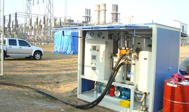 Double-Stage High-Efficiency Vacuum Transformer Oil Purifier